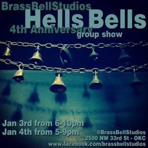 Read more about the article Brass Bell 4th Anniversary Group Show! Jan 3 and 4