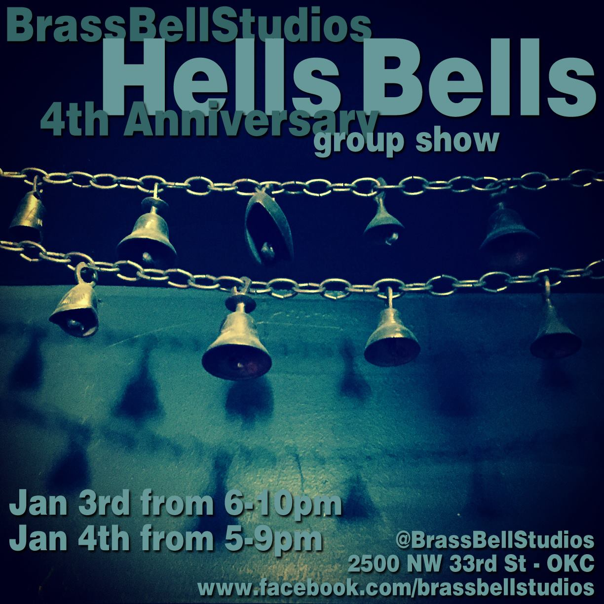 You are currently viewing Brass Bell 4th Anniversary Group Show! Jan 3 and 4