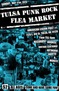 Read more about the article About that time again… Tulsa Punk Rock Flea Market!