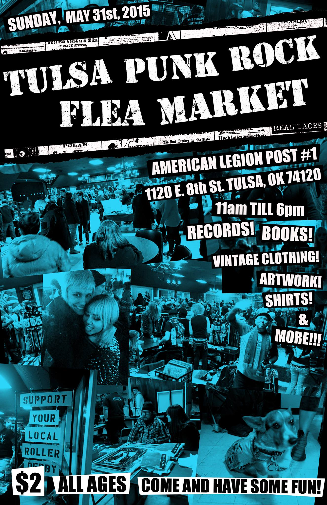 You are currently viewing About that time again… Tulsa Punk Rock Flea Market!