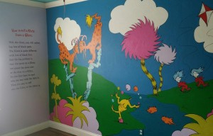 Read more about the article Dr. Seuss Mural Finished!