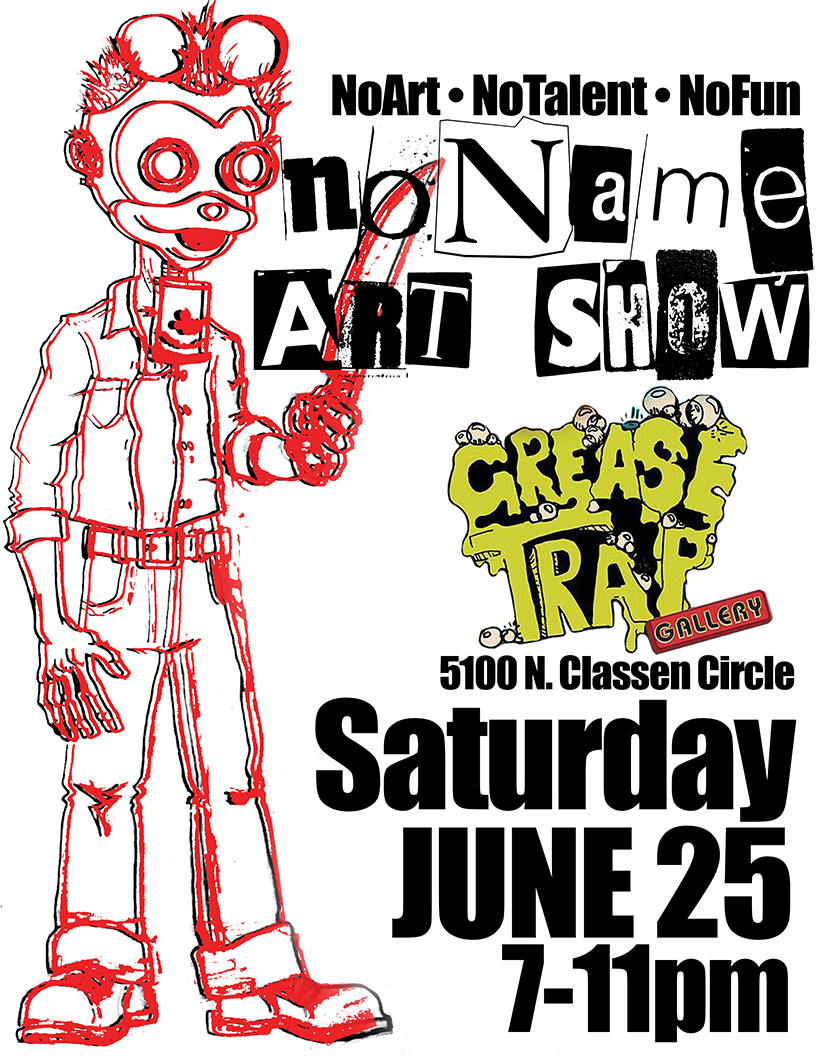 You are currently viewing Show this Weekend at Grease Trap!