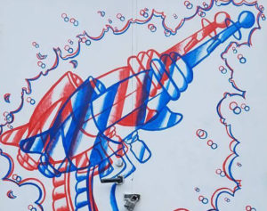 Read more about the article New Murals for Urban Alley | Mike's 3D Raygun