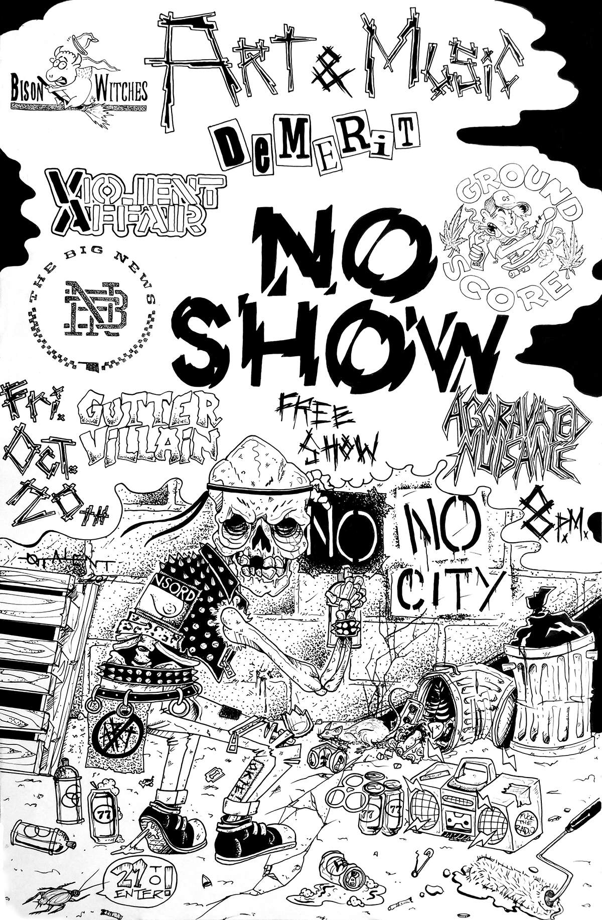 You are currently viewing NoCity NoShow | Our Next Show Right Here in Norman!