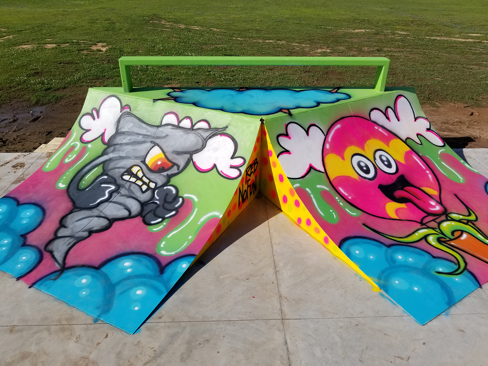 You are currently viewing CRE8NSK8 | Art at the Skate Park